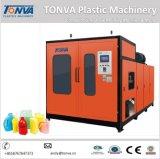 Jerry plástico puede máquina del moldeo por insuflación de aire comprimido de la producción de la maquinaria de Tonva