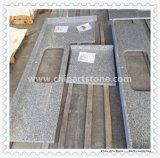 Bancada branca chinesa da cozinha do granito G623 de Haicang