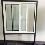 Двойное окно застеклять UPVC сползая с самым лучшим ценой