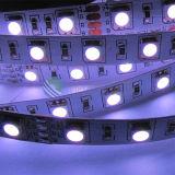 Luz de la cuerda del color 30LEDs 7.2W LED de SMD5050 RGB