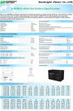 세륨 UL를 가진 SBB 12V90ah Solar Power Gel Deep Cycle Battery
