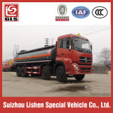 Diluted Hydrochloric Acid Dongfeng Truck 8 * 4 Tanker Transportation 20 Cbm Liquid Chemical Truck