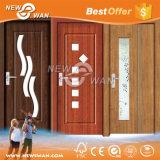 Дверь ванной комнаты матированного стекла, дверь HDF нутряная, дверь PVC