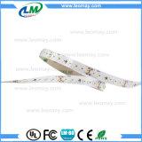 SMD3014 LEDのストリップ60 LEDs/M DC12V適用範囲が広いLEDの滑走路端燈(LM3014-WN60-R)