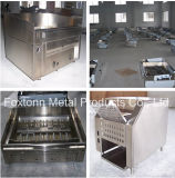 La Cina Manufactured Cooking Equipment Electric o Gas Fryer