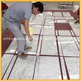 Azulejo de suelo de mármol blanco Polished de Bianco Carrara para el cuarto de baño y la cocina