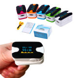 Selling caldo Medical OLED Oximeter Pulse con Heart Beat Rate Pulse Meter Measure