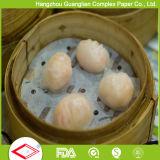 Papel Steaming tratado silicón de 5.5 pulgadas con los agujeros