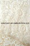 女性の服のための100%Polyester材料のレースファブリック