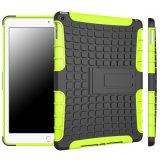 iPad 2/3/4/5/6のiPad小型2/3/4のための新しいハイブリッドKickstandの電話箱