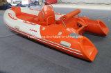4m Hypalon Rib Boat (la vendita calda con i fuoribordi 15HP di SAIL E-avvia)