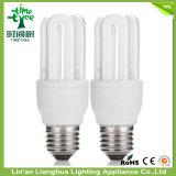 lâmpada energy-saving em forma de u do T3 6000h de 3u 8W 12W 14W