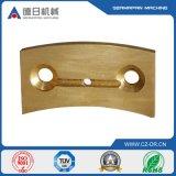 Bâti de cuivre précis d'acier inoxydable de plat de cuivre de feuille