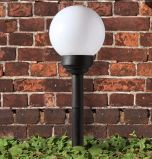 Globe solare Path Light con 1 White LED