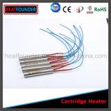 Calentador modificado para requisitos particulares del cartucho de la alta calidad con el termocople