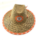 Chapéus de palha da forma do verão