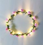 Ghirlande infiammanti di alta qualità LED per l'accessorio dei capelli del partito