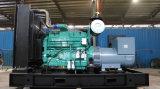 Moteur refroidi par eau Cummins Type ouvert ATS Power Station 300kw / 375kVA