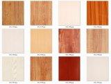 Pellicola/stagnola laminate della decorazione del PVC del grano di legno per mobilia/portello