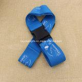 Cinghia blu dei bagagli stampata marchio su ordinazione del rifornimento