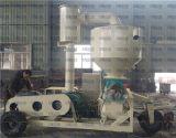 사일로 압축 공기를 넣은 컨베이어로 곡물 운반
