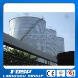 Conjunto econômico silo galvanizado do aço do armazenamento da grão 10000t