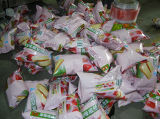 ドライフルーツの袋の包装機械