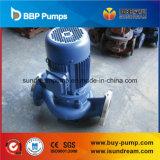 Pompa ad acqua elaborante centrifuga in-linea verticale