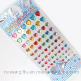 Rhinestone Diamond Acrylic Crystal Sticker per Car Sticker