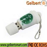 Vara da memória do USB 2.0 do modelo do copo de café para a promoção
