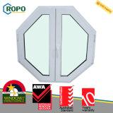 Guichet en plastique de tissu pour rideaux d'UPVC/PVC, guichet de PVC et modèle de porte