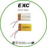 Bateria do polímero do lítio 551730 para a bateria eletrônica dos brinquedos