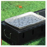 Pollution-Free удобный устранимый лоток решетки BBQ алюминиевой фольги