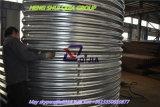 Pipa de acero acanalada material Q345