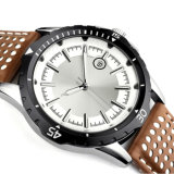 O relógio novo de quartzo do estilo 2016, forma o relógio Hl-Bg-105 do aço inoxidável