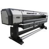 teste di 2PCS Dx7 per la stampante del solvente della stampatrice della bandiera della flessione dei tabelloni per le affissioni 2.5m Eco