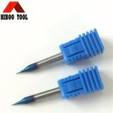 Moinho de extremidade do revestimento HRC65 Nano azul micro