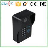 7 polegadas prenderam o teclado video da identificação das sustentações do telefone da porta e de controle remoto