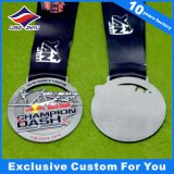 Medallas baratas de encargo del campeonato del metal en buena calidad