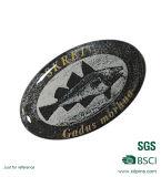 Distintivo su ordinazione di Pin di stampa del metallo per il commercio all'ingrosso