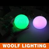 per uso esterno e dell'interno LED illuminato intorno alla grande sfera chiara