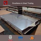 Placa inoxidable laminada en caliente de la hoja de acero (CZ-S10)
