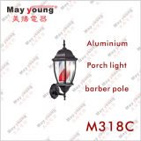 M318小型壁の回転理髪師のポール・ライト