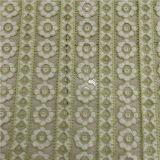 Tessuto del merletto del fiore del cotone per il vestito dalla ragazza