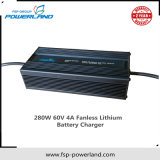 280W 60V 4A Fanless Lithium Battery Charger