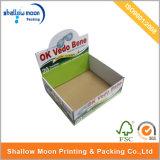 Boîte de présentation adaptée aux besoins du client de papier ondulé d'impression (QYCI1534)