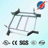 Escada de aço elétrica da bandeja de cabo e do cabo