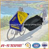 Tubo interno de bicicleta natural de alta qualidade 22X1.75 / 1.95