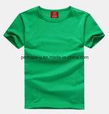 Katoenen van de Kleur van de Mensen van uitstekende kwaliteit Zuivere T-shirt met het Embleem van de Douane