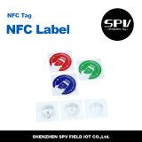 Collant d'à haute fréquence de Nfc de papier enduit d'ISO14443A